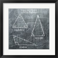 Framed Triangles