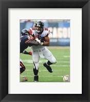 Framed Tony Gonzalez 2011 on the field