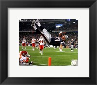 Framed Rob Gronkowski 2011 Action