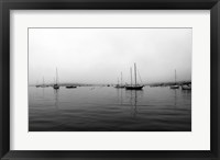 Framed Grey day in Boothbay