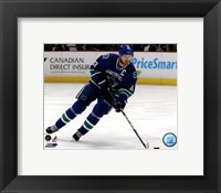 Framed Henrik Sedin 2011-12 Action