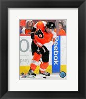 Framed Scott Hartnell 2011-12 Action