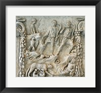 Framed Altar of Mars and Venus - Aphrodite and Ares