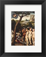 The Judgment of Paris Framed Print