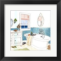 Seaside Spa II - mini Framed Print