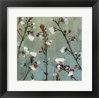 Wind blossoms II -Mini Framed Print