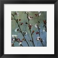 Framed Wind Blossoms I - mini