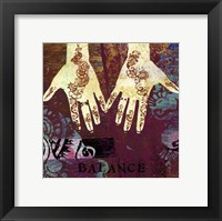 Mehndi III - Mini Framed Print