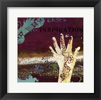 Mendhi I -Mini Framed Print
