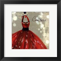 Couture - mini Framed Print