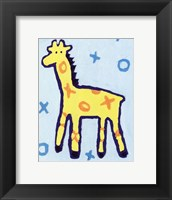 Giraffe - mini Framed Print