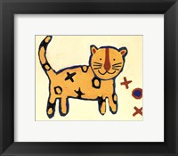 Leopard - mini Framed Print