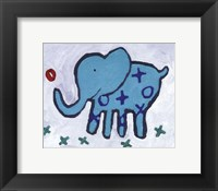 Elephant - mini Framed Print