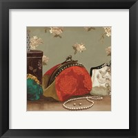 My Red Purse - mini Framed Print