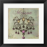 Framed Maison-  mini