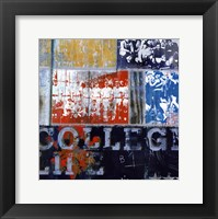 Framed College Life - mini