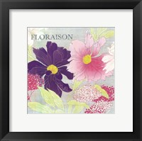 Framed Florasion -mini