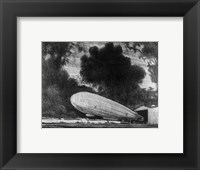 The Zeppelin Framed Print