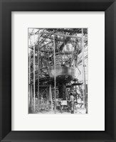 Gondola of New Zeppelin for Pilot and Passengers Framed Print