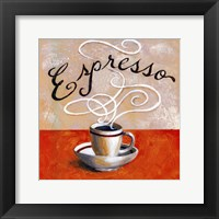 Expresso - mini Framed Print