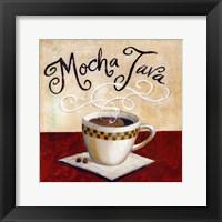 Framed Mocha Java - mini