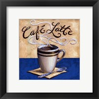 Framed Cafe Latte - mini