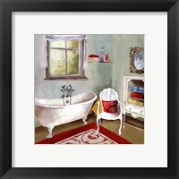 Tranquil Bath I - mini Framed Print
