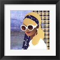 Framed Scarf and Shades - mini
