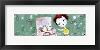 Framed Little Treasure brunette - mini