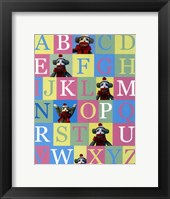 Framed Alphabet Theory - mini