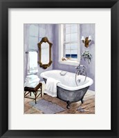 Framed Coastal Bath I - mini