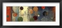 Mosaic Circles II Framed Print