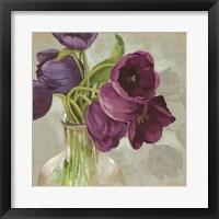 Glass Flowers I Framed Print