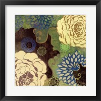 Silk I Framed Print