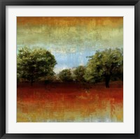 All Aglow II Framed Print