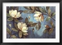 Framed Floating Magnolias