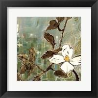 Framed White Trellis III