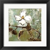 Framed White Trellis II