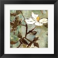 Framed White Trellis I