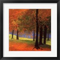Framed Autumn Trees