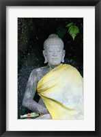Statue of Buddha, Bali, Indonesia Framed Print