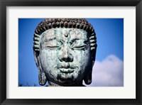 Buddha's statue, Jodo Mission, Lahaina, Maui, Hawaii, USA Framed Print