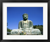 Statue of the Great Buddha, Kamakura, Japan Framed Print