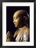 Framed Close-up of a Buddha Statue, Asakusa Kannon Temple, Tokyo, Japan