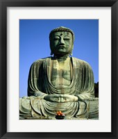 Statue of Buddha, Kamakura, Japan Framed Print