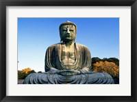 Statue of Buddha, Daibutsu, Kamakura, Tokyo, Japan Framed Print