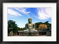 Buddha, Daibutsu, Kamakura, Tokyo, Japan Framed Print