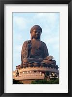 Framed Tian Tan Buddha