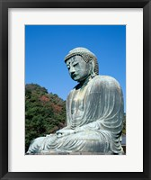 Daibutsu Great Buddha, Kamakura, Honshu, Japan Side View Framed Print