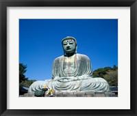 Daibutsu Great Buddha, Kamakura, Honshu, Japan Framed Print
